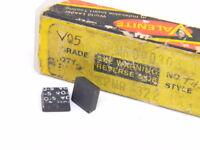 NEW SURPLUS 9PCS. VALENITE SPMR 322  GRADE: V05  CARBIDE INSERTS