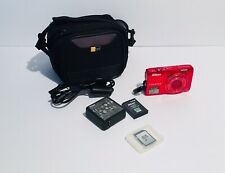 Nikon COOLPIX S6300 16.0MP Digital Compact Camera HDMI Red -SD Card Battery Case