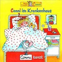 CONNI - 9: CONNI IM KRANKENHAUS/CONNI TANZT  CD  6 TRACKS KINDERHÖRSPIEL  NEU