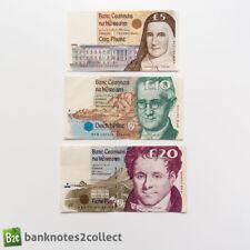 More details for ireland: set of 3 irish punt banknotes.