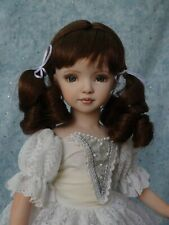 "Brittany - OOAK - 15"" Porcelain Doll - from Dianna Effner mold - edollru"