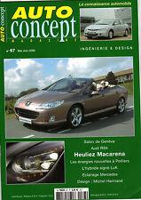 REVUE MAGAZINE AUTO CONCEPT N°67 05/06 2006 AUDI RS4 HYUNDAI SANTA FE LEXUS IS