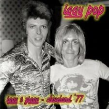 "IGGY POP ""IGGY & ZIGGY CLEVELAND 77"" CD NEW"
