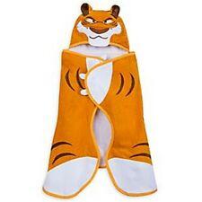Serviette de plage à capuche Shere Khan tigre DISNEY STORE Le livre de la jungle