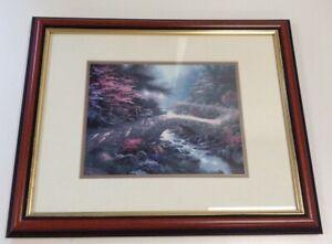 Thomas Kinkade Framed Print Bridge Of Faith The Garden Of Promise II Collectible