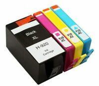 4Pk 920 XL 920XL Ink Cartridge For HP OfficeJet 6500 6500a 7000 7500a 6000 Plus