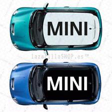 Sticker MINI emblema Pegatina vinilo para techo coche MINI COOPER S JCW Countrym