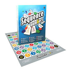 Sequence Numbers Edition Strategy Board Game by Winning Moves