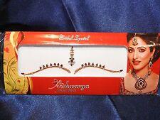 Bindi Indian Bollywood Ladies Accessories Dots Tattoo Bridal Forehead Sticker A4