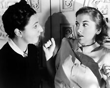 JUDITH ANDERSON JOAN FONTAINE STARTLED LOOK ALFRED HITCHCOCK REBECCA 8X10 PHOTO