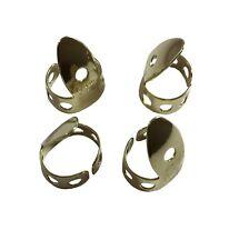National Metal Finger Picks .025 inch 4-Pack Brass