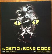 ENNIO MORRICONE Le chat à neuf queues 1971 Dario Argento Giallo RE 2014 ►♬