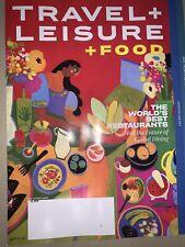 TRAVEL + LEISURE Magazine September 2020 Worlds Best Restaurants