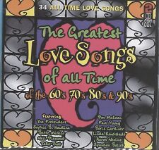 The Greatest Love songs of the 60s '70s  80s 90s 2cd Startel