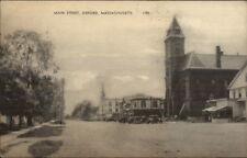 Oxford Ma Main St. Postcard