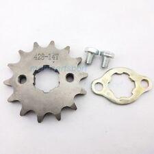 428 14 T 20mm Front Engine Sprocket for CRF XR70 KLX SDG Dirt Pit Bike ATV Quad