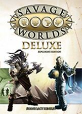 Savage Worlds Role Plaging Game Deluxe - Explorers Edition