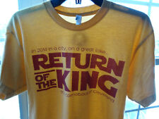 Cleveland T Shirt Tee Return of the King Lebron James Cavs Jedi CLE Clothing Co