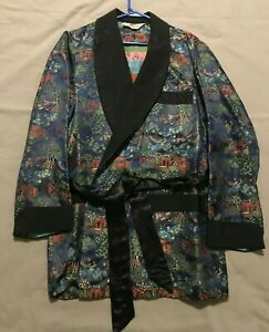 Vintage Men's Smoking Jacket / Robe (pre-owned) Made in Canada