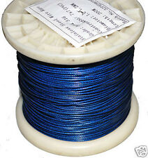 0.8mm 62kg Nylon Coated 316SS Shark Trace. 10m Coil. Fishing Wire