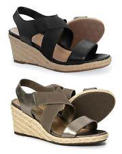 New Women`s Vionic Orthaheel Technology Tulum Ainsleigh Wedge Sandals