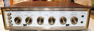 Sherwood S5000 Vacuum Tube Integrated Amplifier 1960's Tube Unit IGNORE SHIPPING
