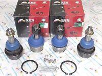 4WD 4PCS Front Ball Joints For 88-95 K2500 K3500 95 Tahoe Yukon K6291 K6344