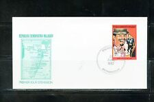 MALAGASY 1992 SAMY DAVIS Jr  PERFORATE STAMP  FIRST DAY COVER