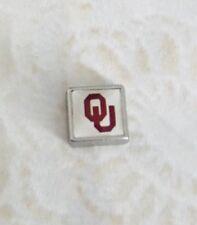 University of Oklahoma OU Sooners Floating Charm for Living Lockets - US Seller