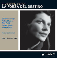 Verdi / Brouwenstijn / Tucker / Dunn / Previtali - La Forza Del Destino [New CD]