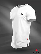 PIMD Lifestyle White Tee - Fitness Workout Gym Muscle T-Shirt Bodybuilding Mens