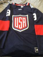 NHL Adidas Premier World Cup Of Hockey US Player Jersey Parise 9 RARE