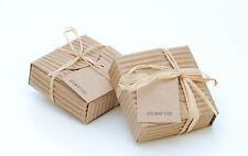 100 x singolarmente in scatola RUSTICO Look Cuffie per la Doccia Hotel B&B Guest House Abbronzatura Spray