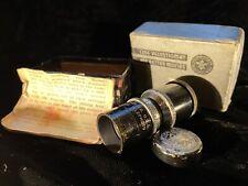 "Vintage Wollensak Lens 1 1/2""  f3.5 Cine Telephoto Lens"