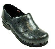 Sanita Signature Womens Size 37 Clogs Loafers Comfort Shoe Gray  #8G