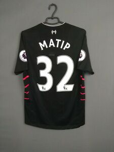 Matip Liverpool Jersey 2016/17 Away MEDIUM Shirt Trikot Maglia New Balance ig93