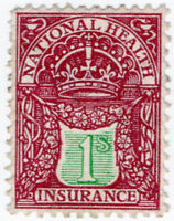 (I.B) George V Revenue : National Health & Insurance 1/-