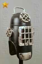 Black Hood Style Diving Divers Helmet Solid Patina Reproduction Gift