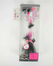 """Silvestri Dolly Mamas 16.5"""" Pink Black Naughty or Nice Standing Shelf Sitter New"""