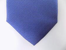 """PERRY ELLIS $55 MEN Blue Geometric Skinny WIDTH 3"""" NECK TIE 100% Silk CASUAL Y21"""