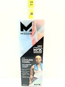 Mission HydroActive MAX Cooling Towel Open Box