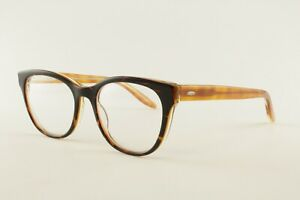 New Authentic Barton Perreira Glasses Maya TOH Tortoise/Clear 49mm Frames RX