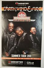 Earth, Wind & Fire - 40th Anniversary Celebration Summer Tour 2011 Poster