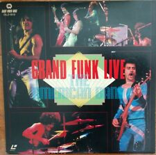 GRAND FUNK (Railroad) Laserdisc The American Band Live Concert JAPAN LD DLZ-0112