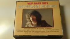 Boudewijn de Groot vijf jaar hits 2 CD Box NM CD