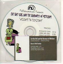 (997D) Fat Bat Girl & The Baroness of Mitcham - DJ CD
