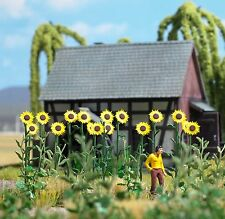 Busch 1261 HO (1/87e): Reuze zonnebloemen