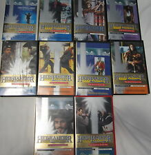 HIGHLANDER- 10x VHS.s Tapes- 19 Episodes of This Exiting Series +++