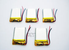 5 pcs 3.7V 200mAh Li-polymer Rechargeable Battery Li-Po ion  for MP3 MP4 402030