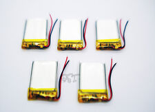 5 pcs 3.7V 200mAh Li-polymer Rechargeable Battery Li-Po ion for MP3 MP4 402030